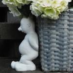 Piet am Blumentopf