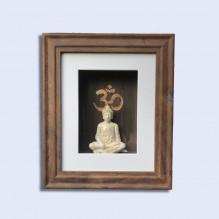 """Wandobjekt """"Special Buddha"""" (Einzelstück)"""