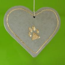Pfoten-Herz