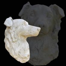 Kopfbüsten-Urne